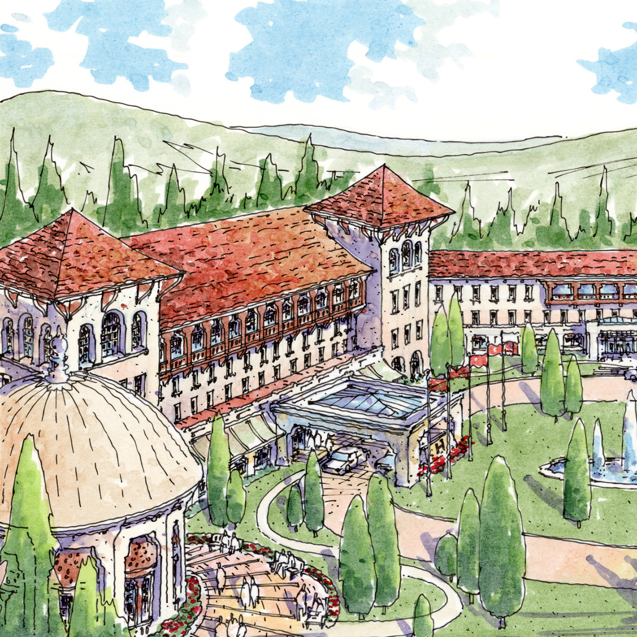 Bursa Thermal Springs