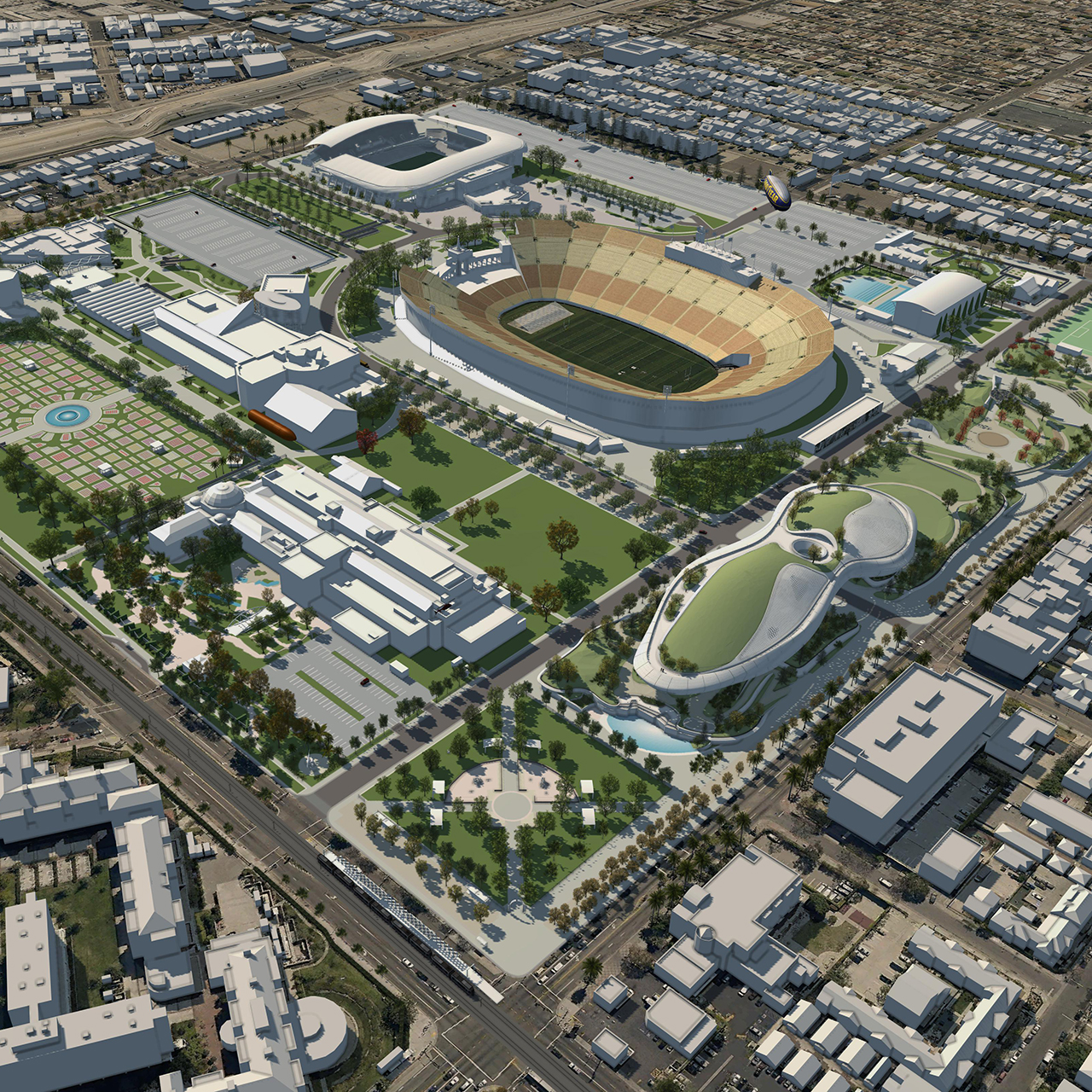 Exposition Park Master Plan