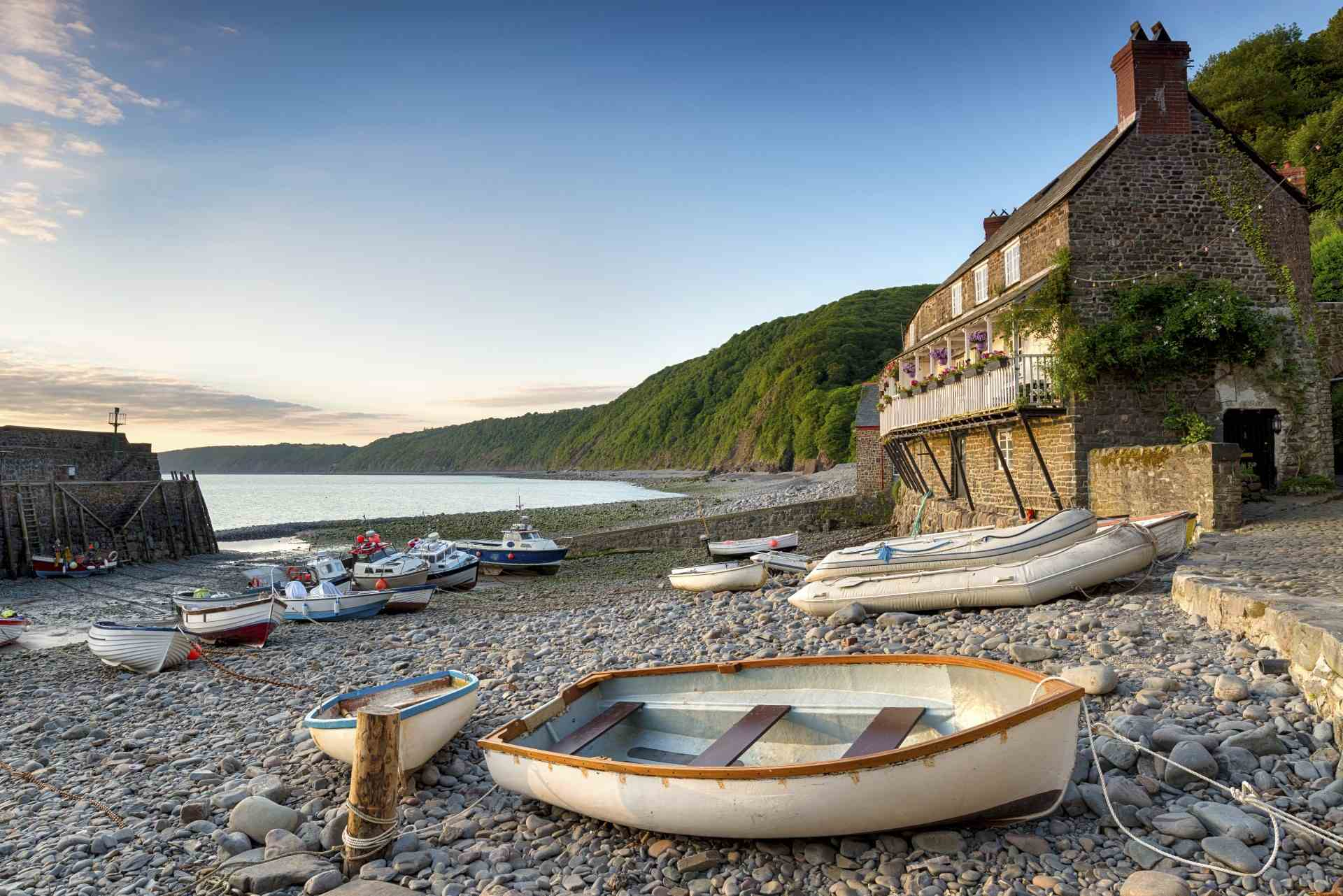 Clovelly in North Devon