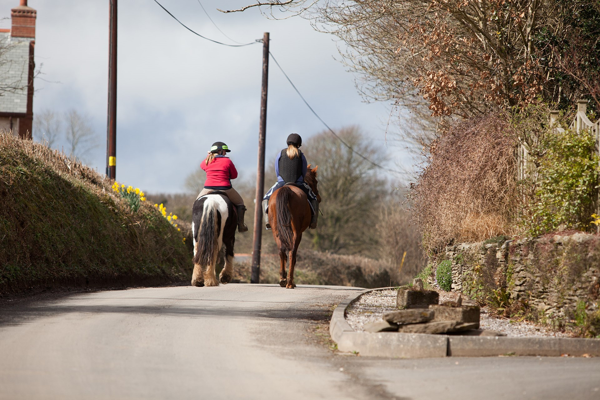 Horseriding on holiday in Kentisbury, quiet countryside location close to Exmoor and coast