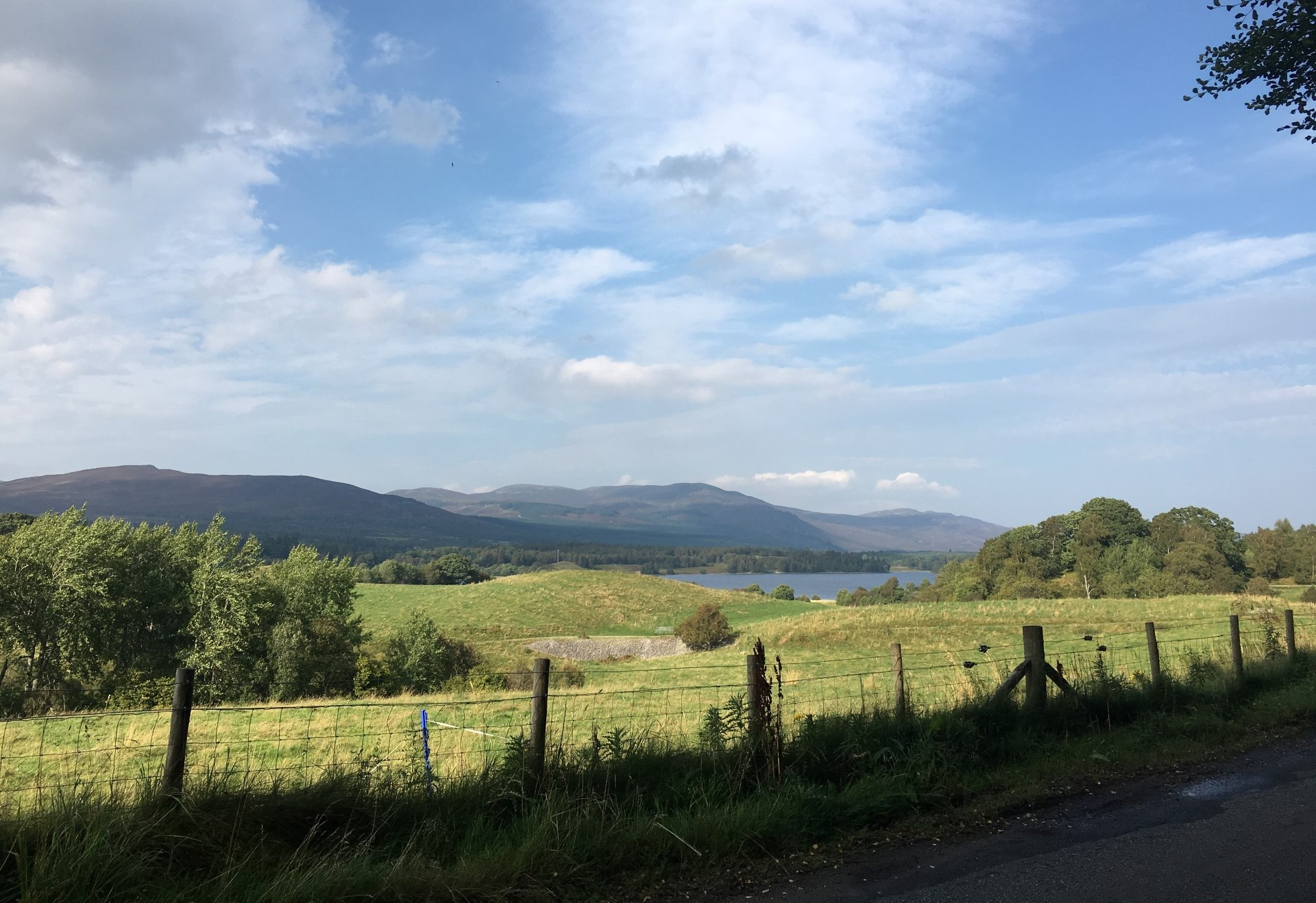 Stunning Scottish Highland scenery near our Newtonmore Cottages