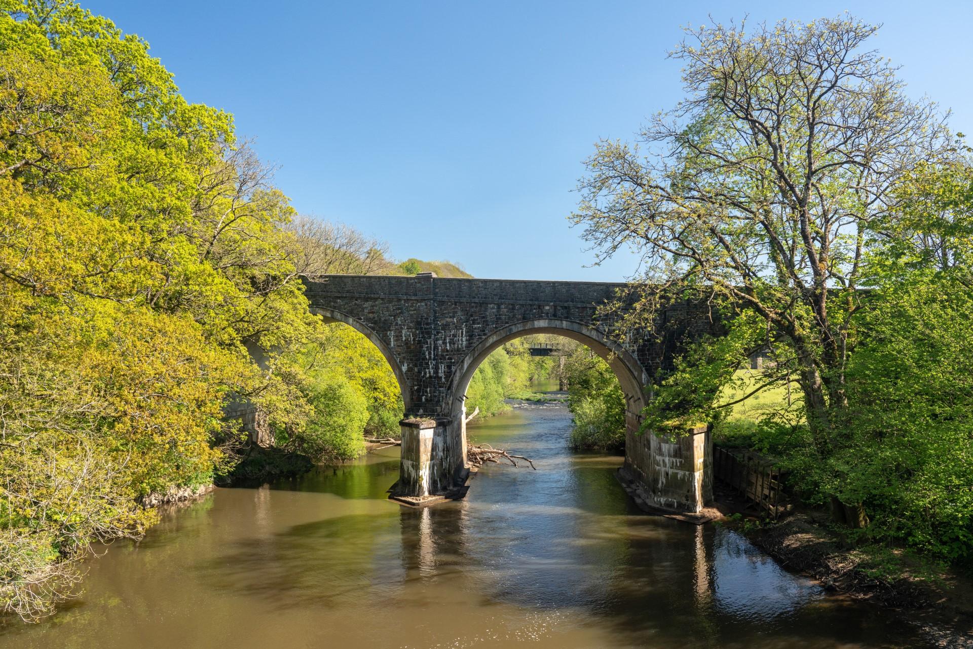 Bridge over River Torridge near Torrington holiday cottages