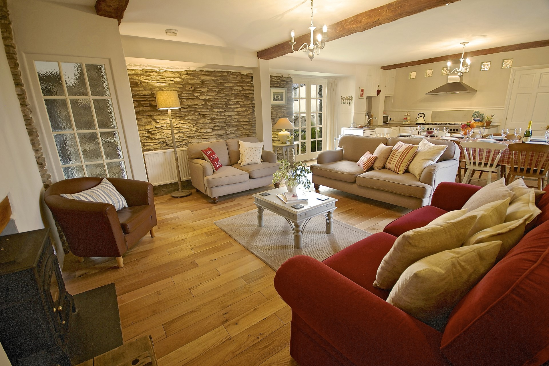 Dolly's Barn, large pet free cottage outside Ilfracombe