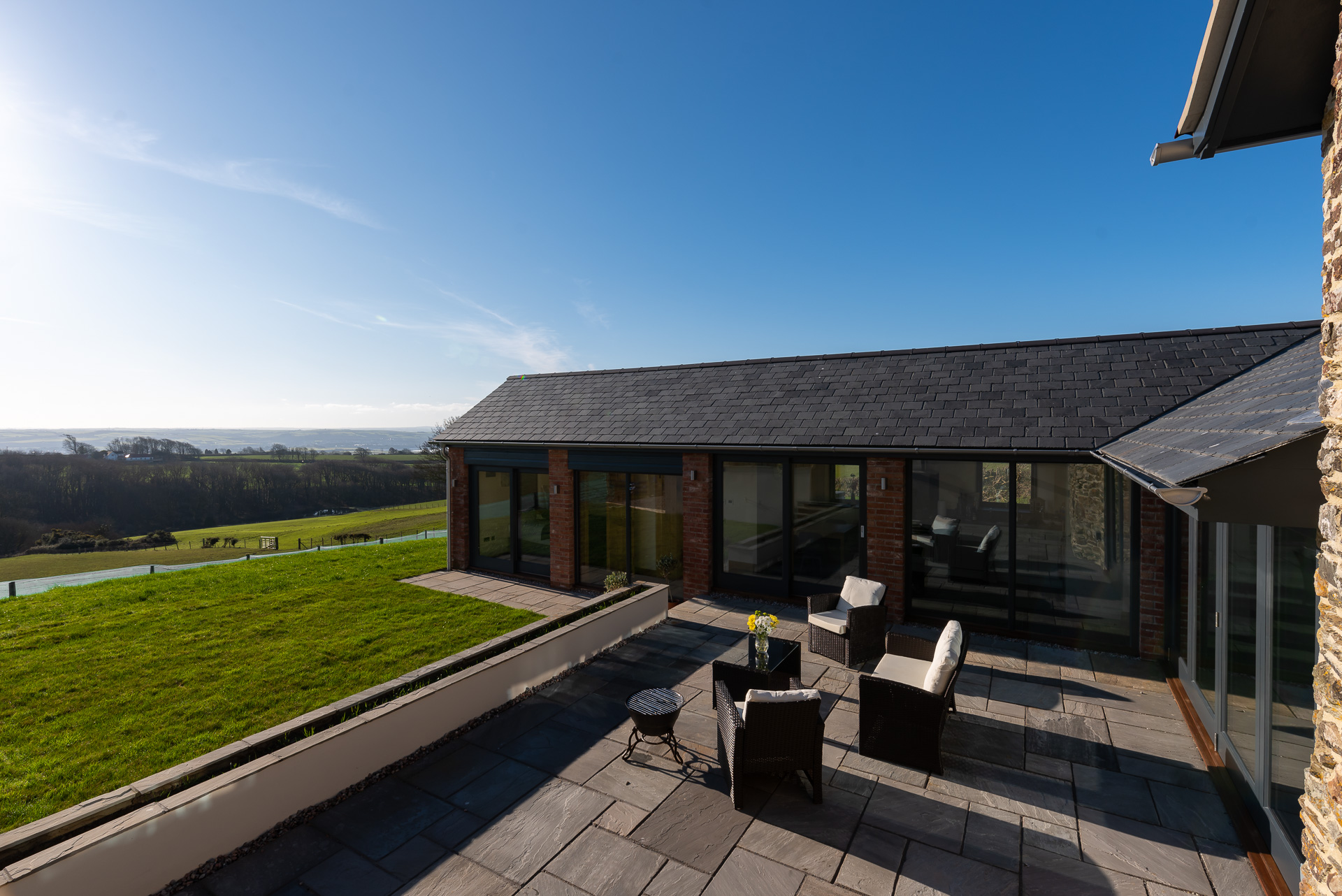 Springfield Linney - sleeps 4 near Marwood with its own hot tub, just recently added for holiday lets all year round.