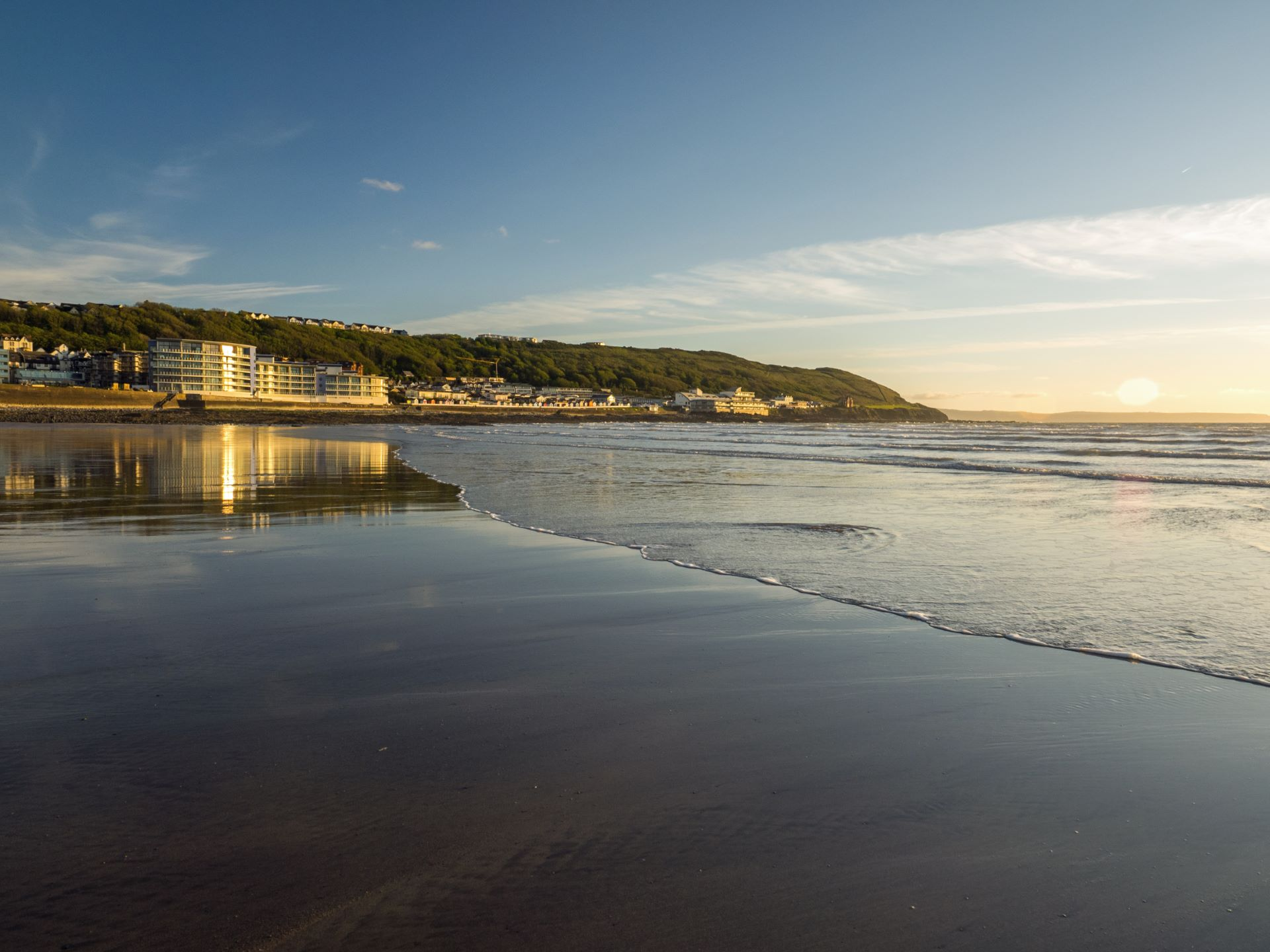 Westward Ho! beach image
