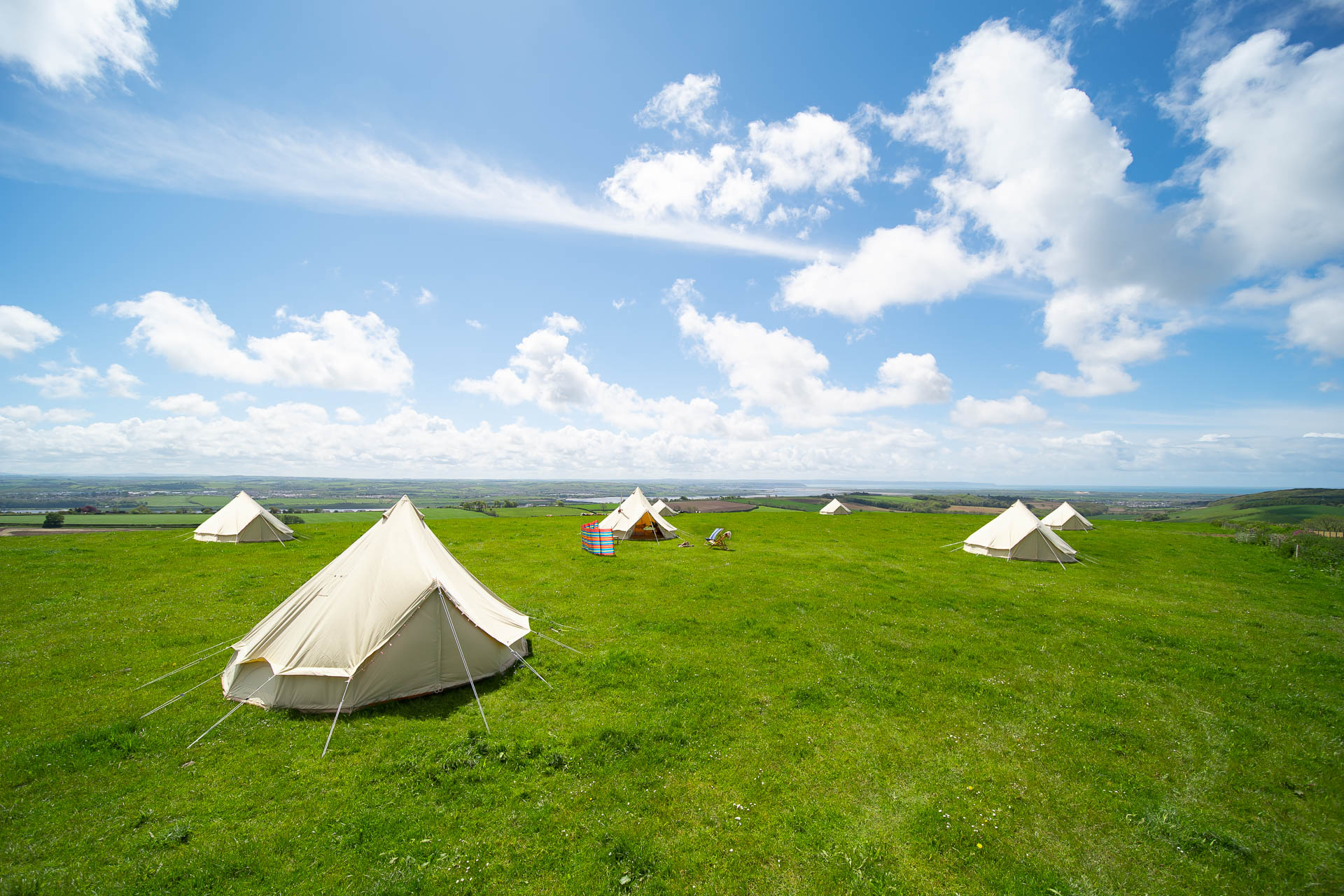 Springfield Bell Tent without Log Burner