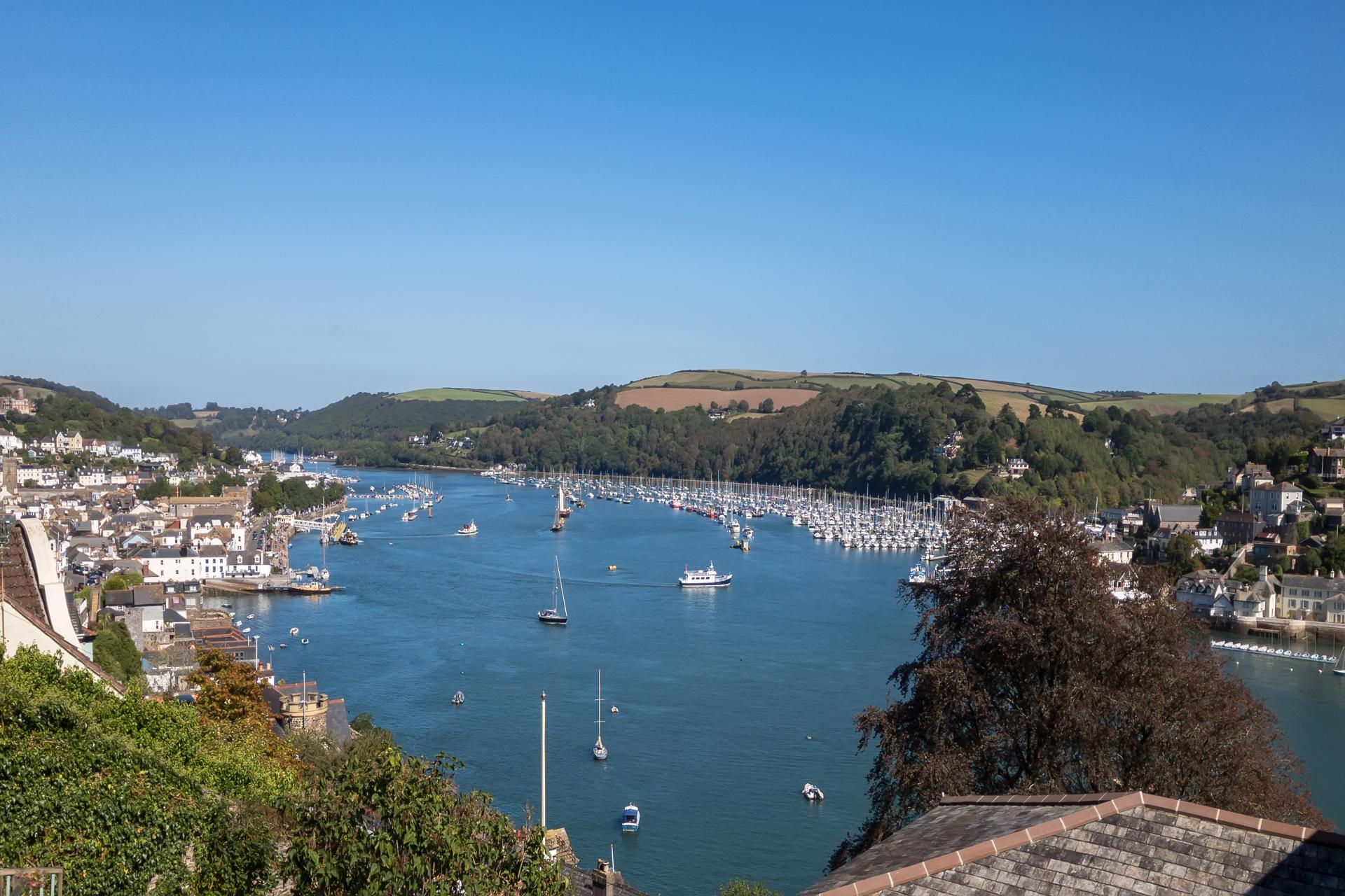 Dartmouth harbour on the River Dart