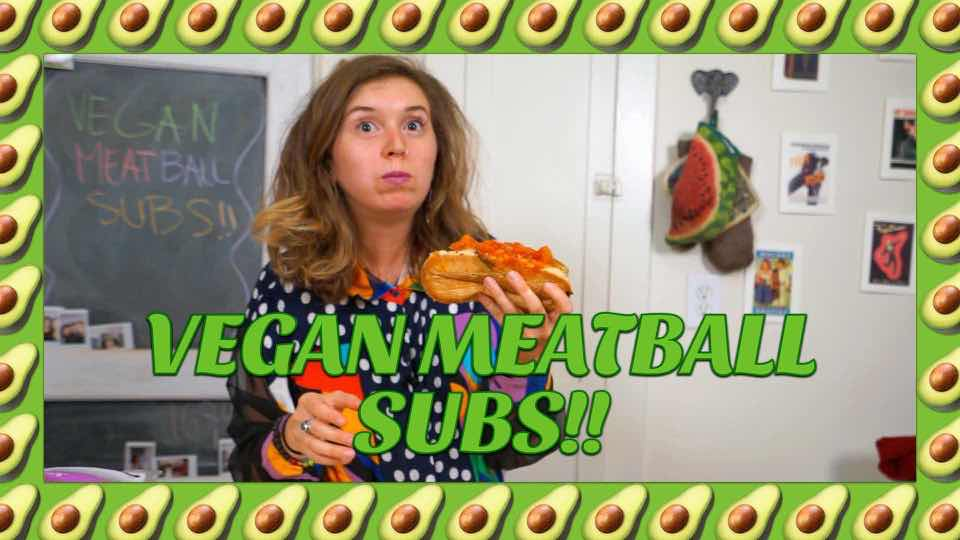 How to make Vegan Meatball Subs with Avocadamama