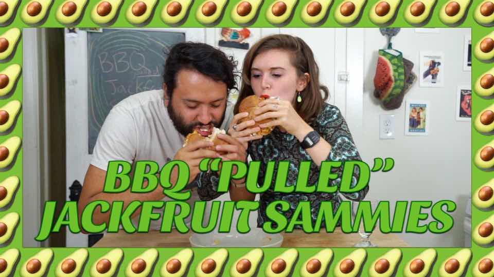 "How to make BBQ Pulled ""Pork"" Jackfruit Sandwiches with Avocadamama"