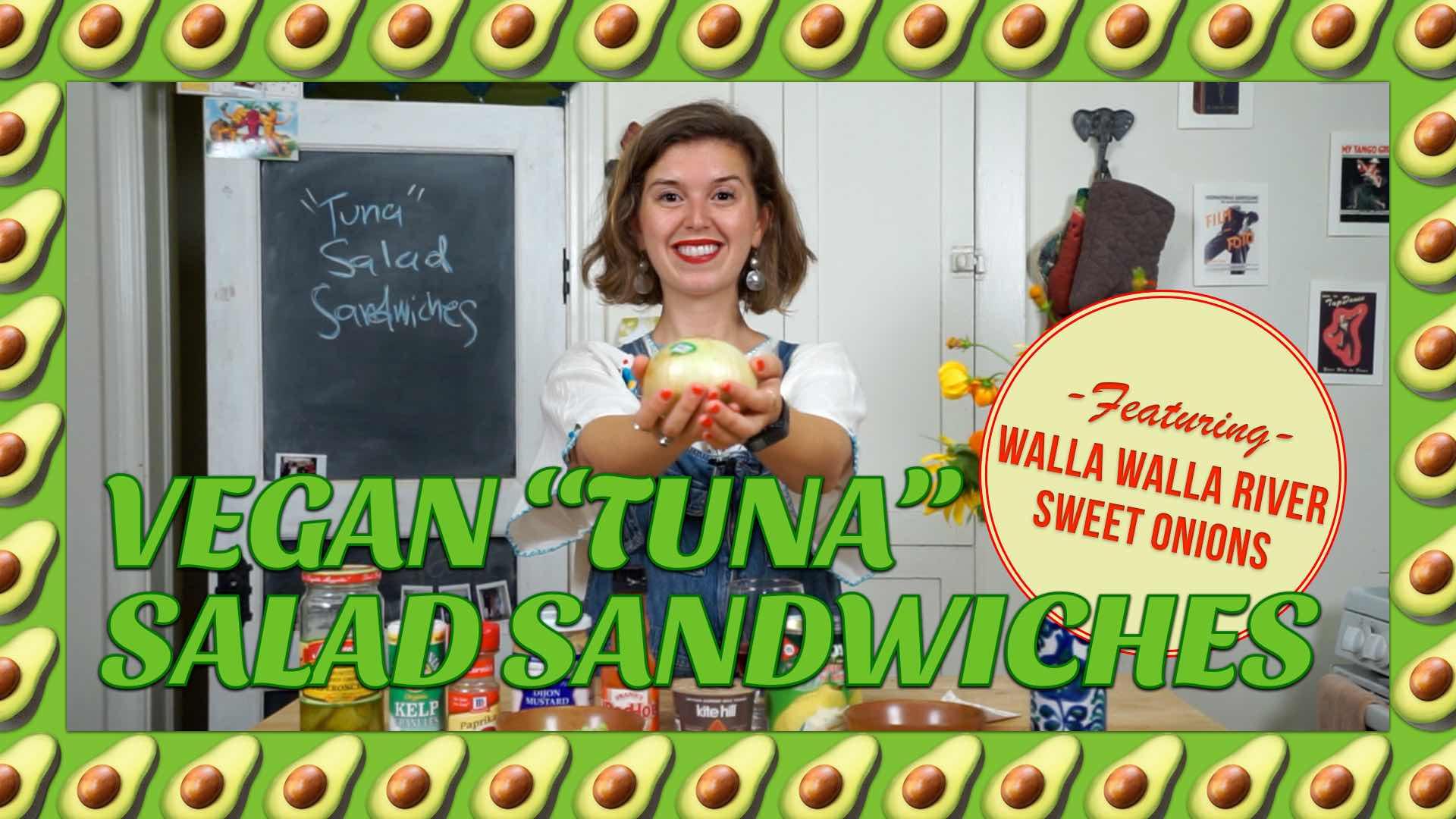 How To Make Vegan Tuna Salad Sandwiches with Avocadamama