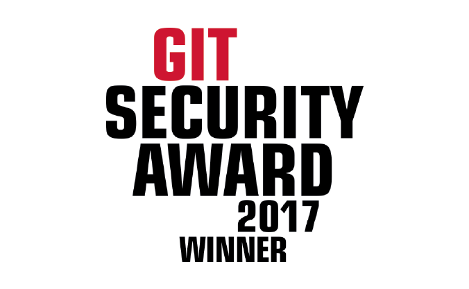 GIT Security Award 2017 Winner
