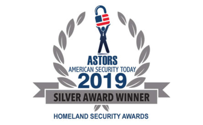 Silver Award Winner Astors, American Security Today, Homeland Security Awards