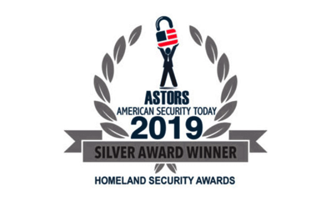 Silver Award Winner Astors, American Security Today, Homeland Security Awards