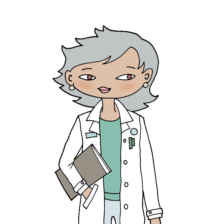 Illustration af læge