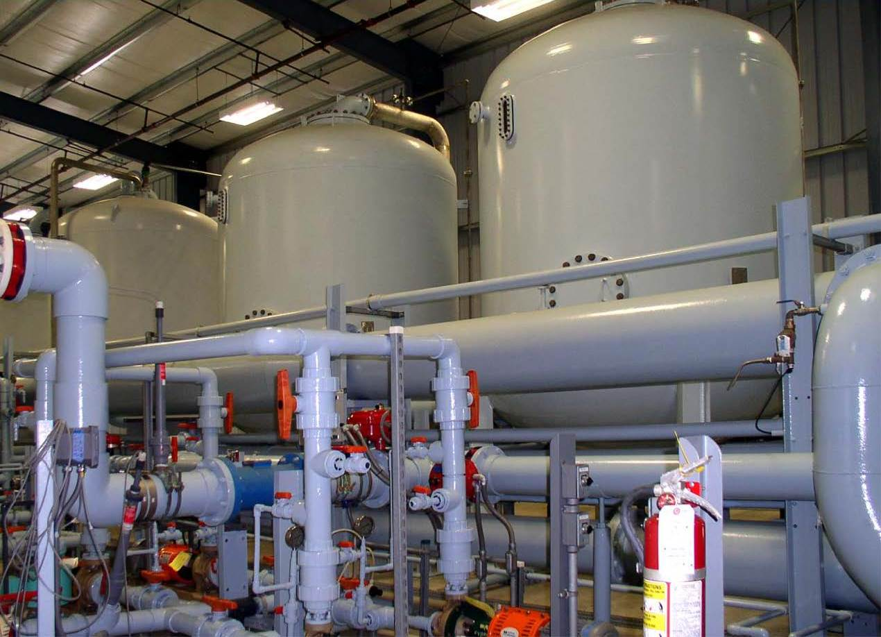 Water Treatment Plant Tanks