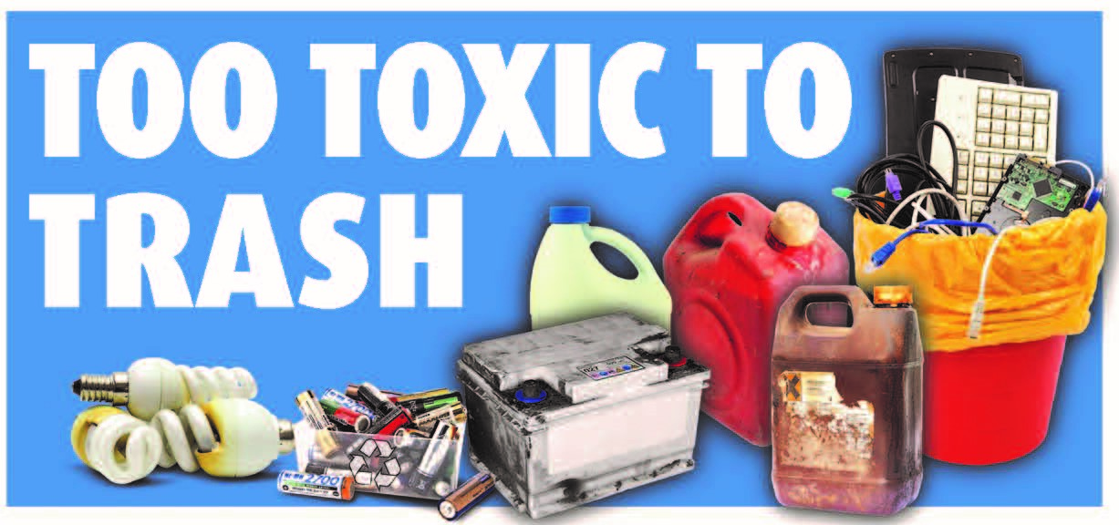 Too Toxic to Trash Banner