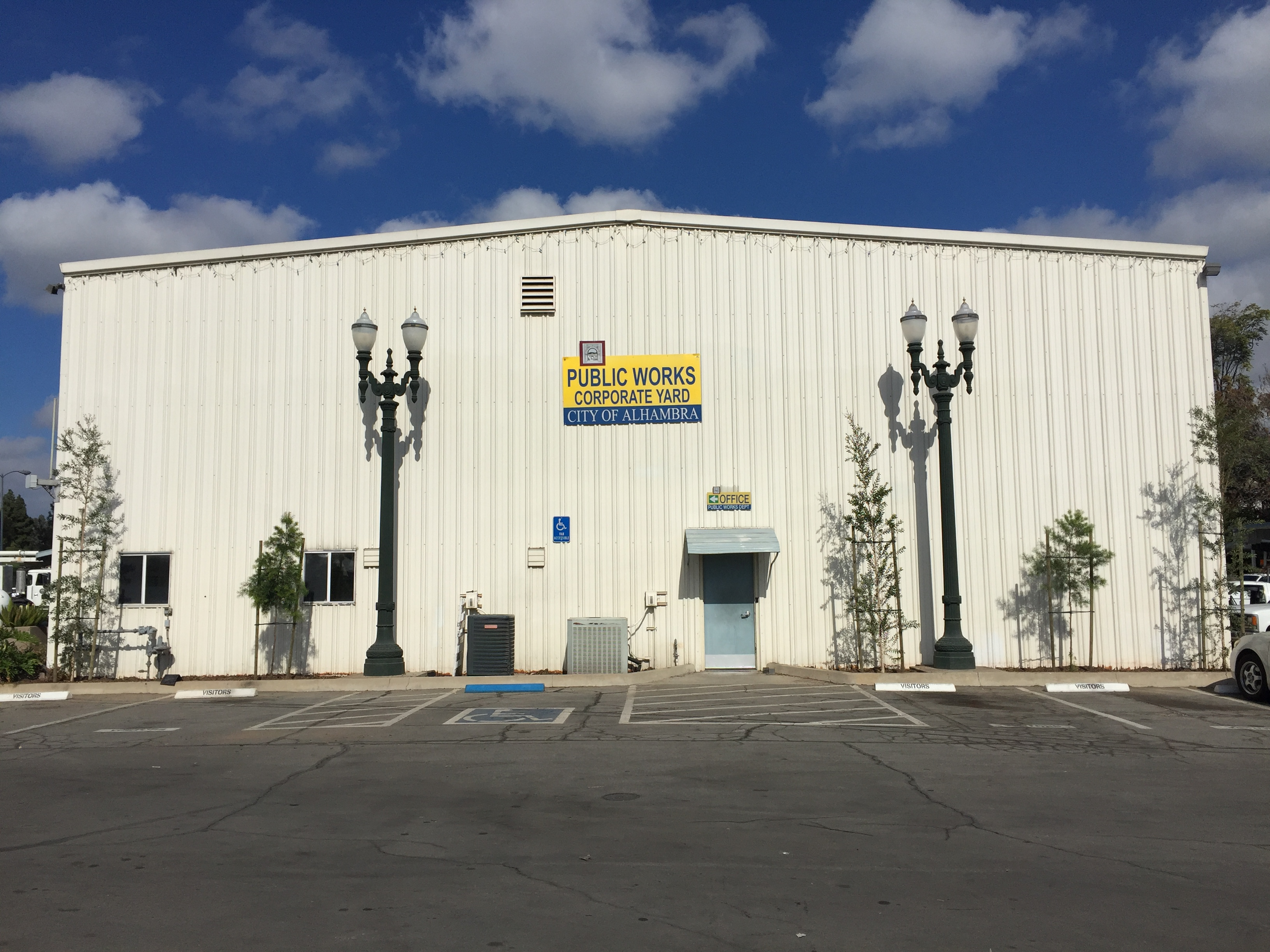 Public Works Corporate Yard, 900 South New Avenue, Alhambra, CA 91801