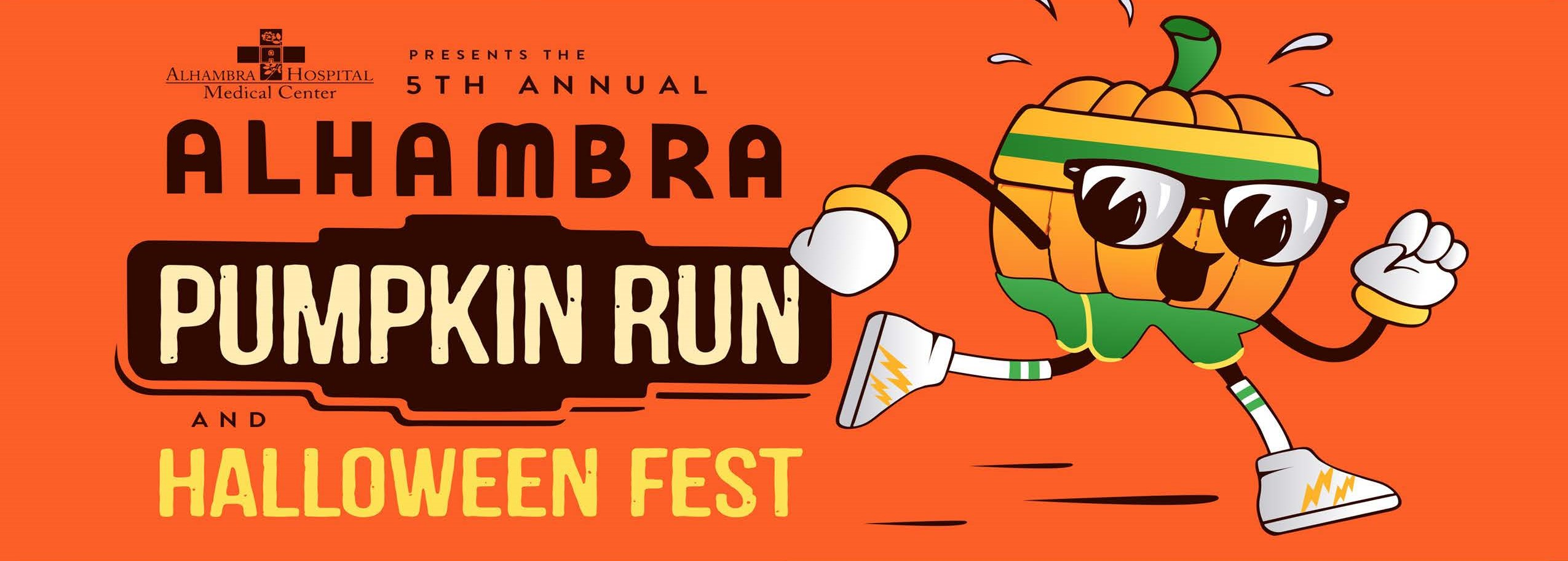 5th Annual Alhambra Pumpkin Run & Halloween Fest Logo