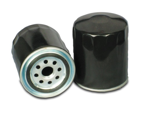 Photo of black oil filters