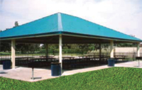 Photo of gazebo near Almansor Lake