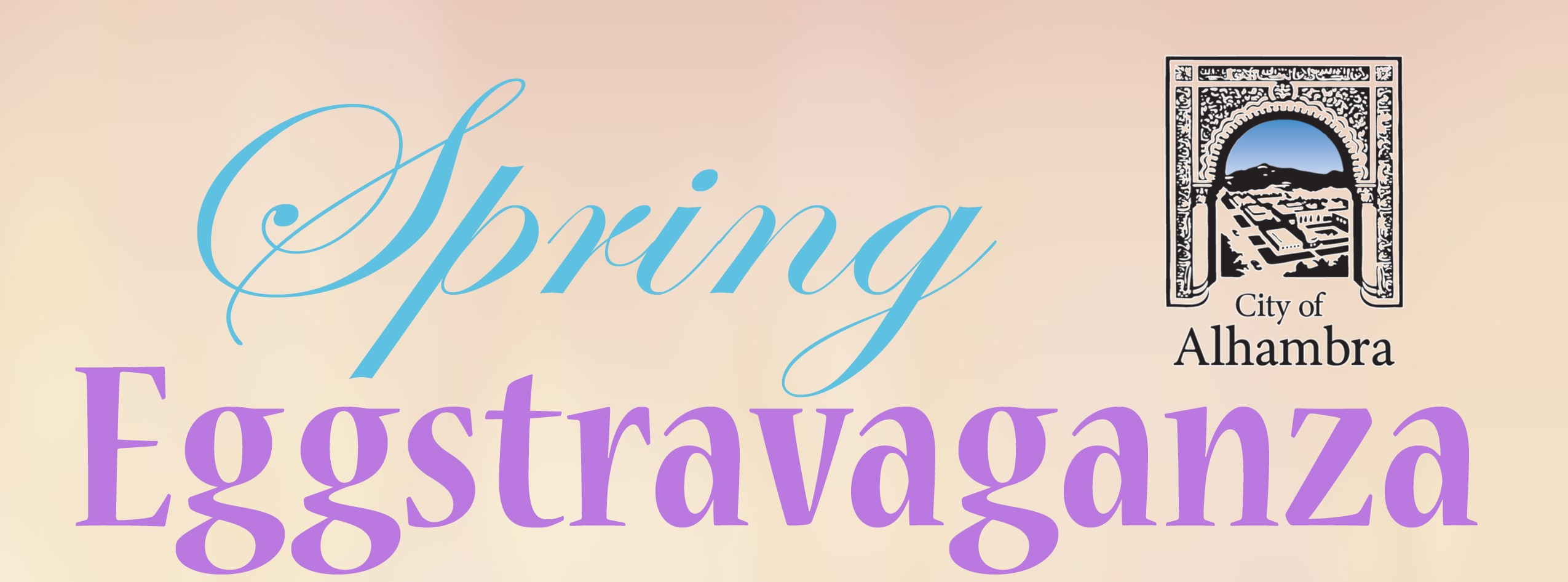 City of Alhambra Spring Eggstravaganza Logo