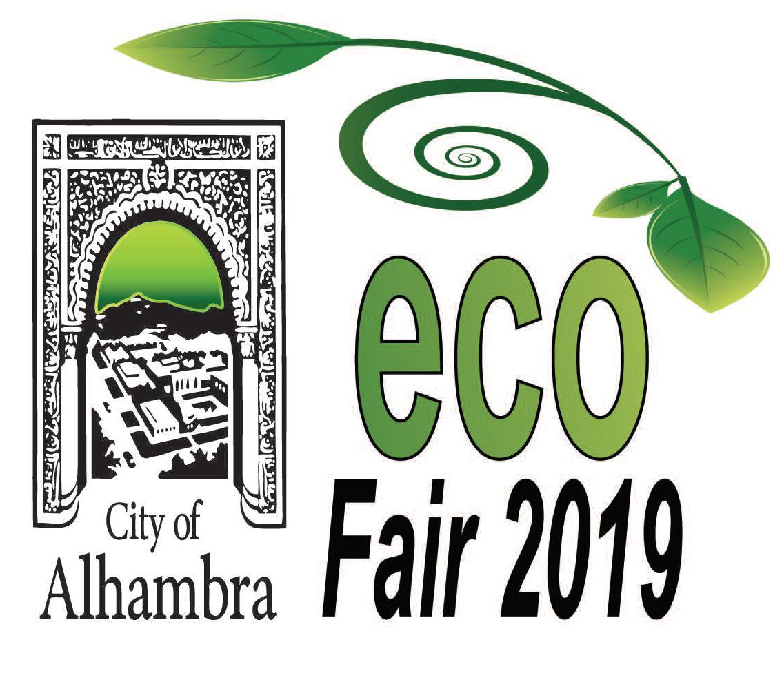 City of Alhambra Eco Fair 2019 logo