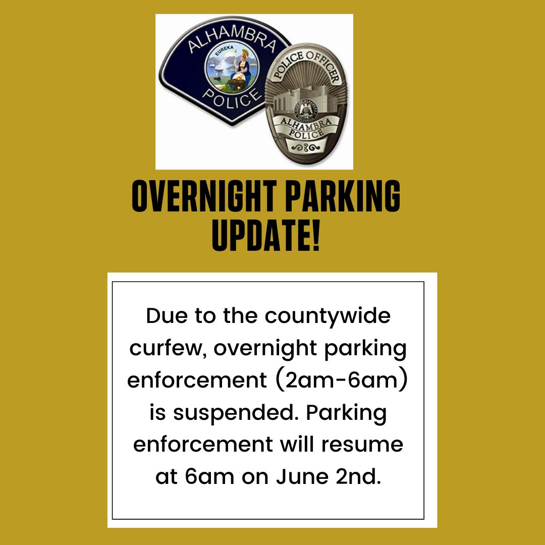 overnight parking suspension graphic
