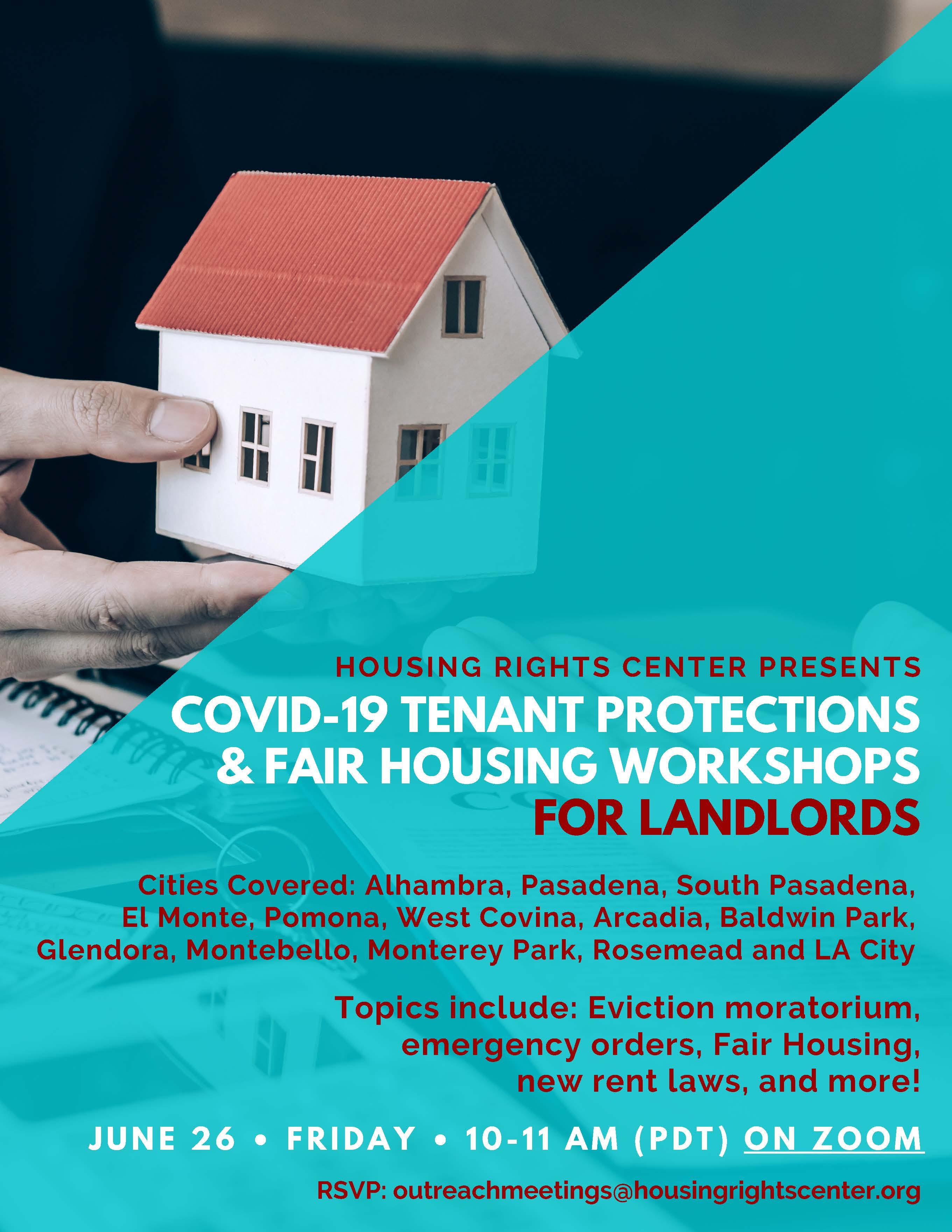 flyer with details of workshop