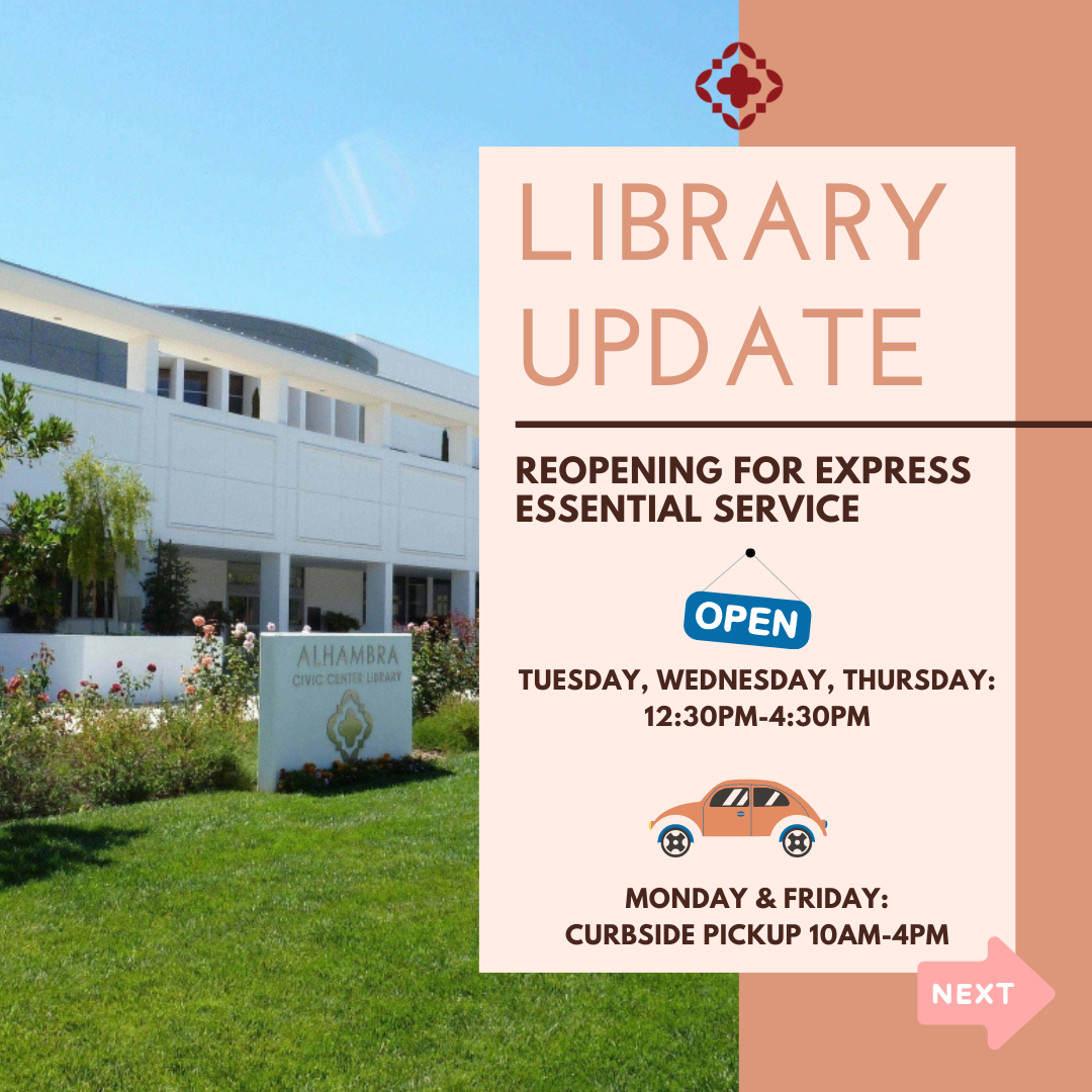 library update graphic