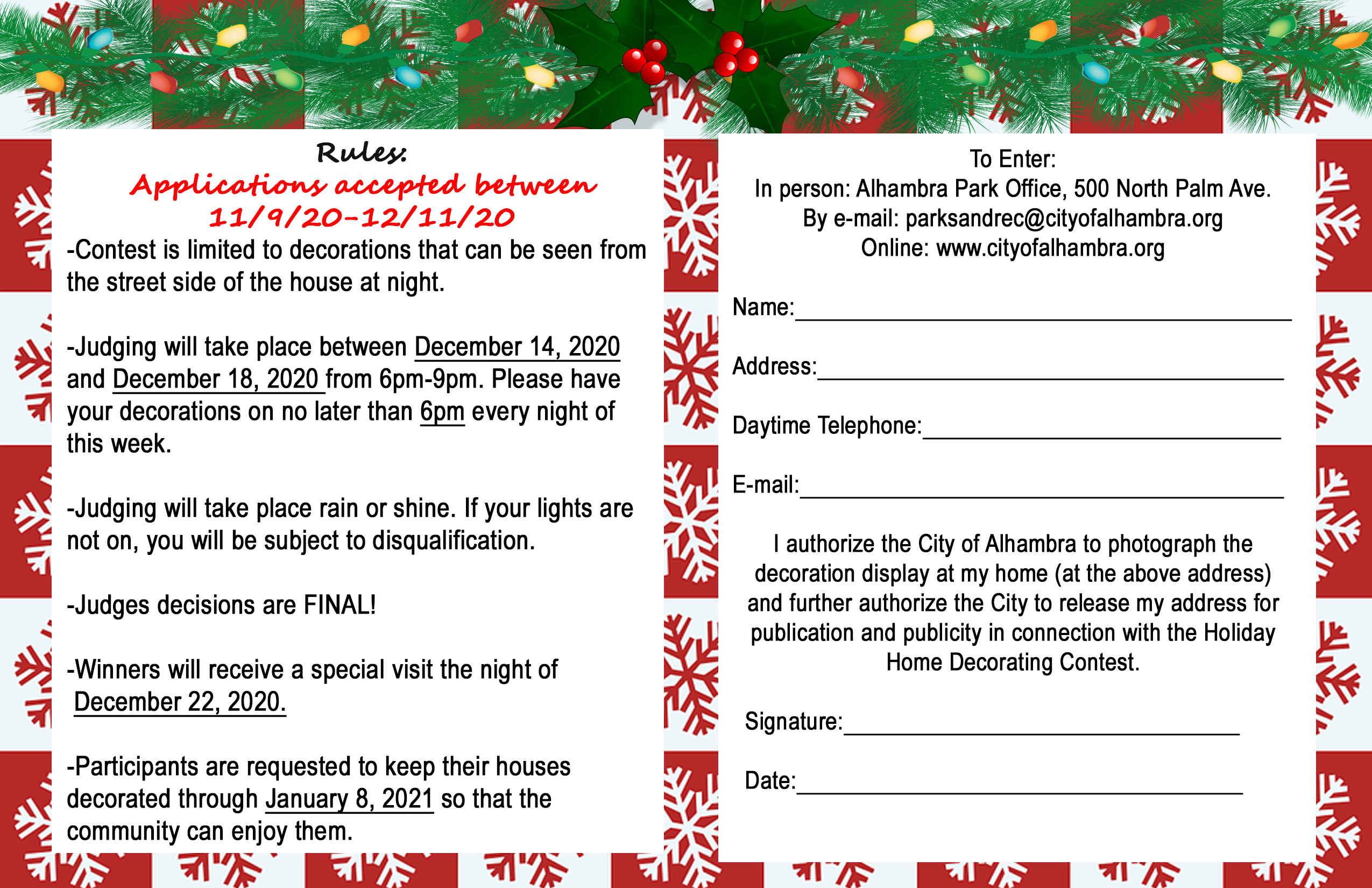 holiday home fillable form picture