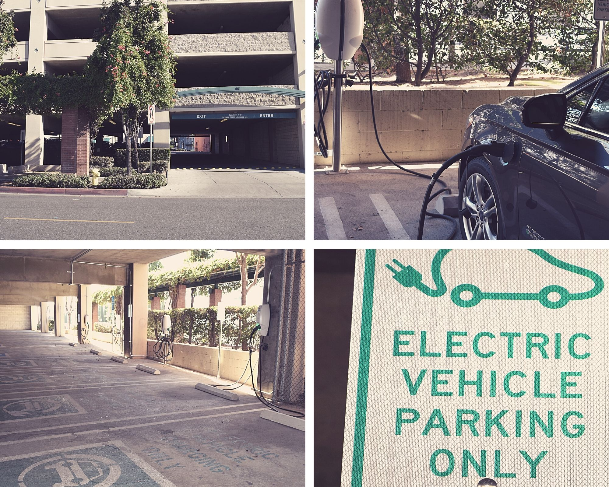 Pictures of 80 S First Street EV parking structure