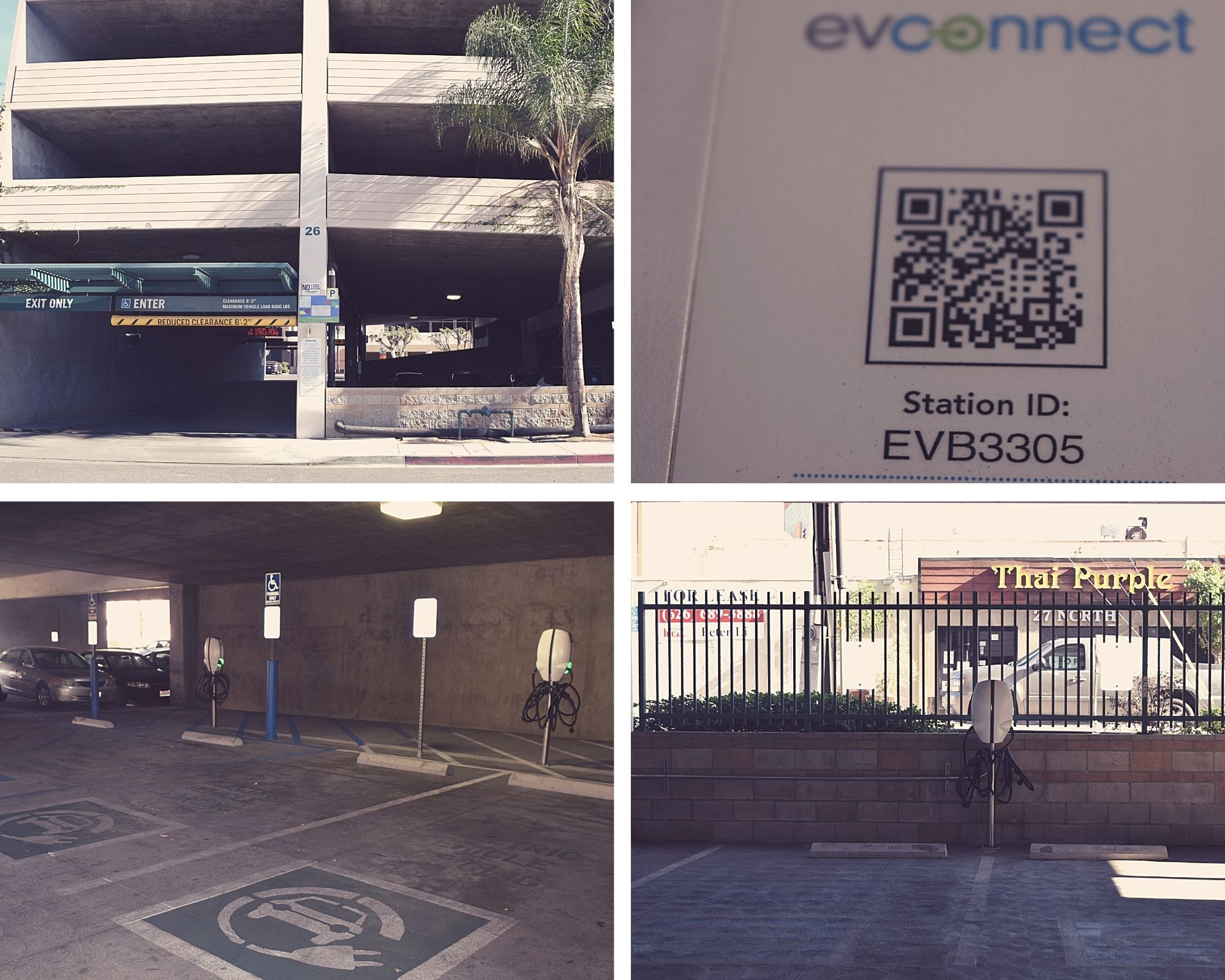 Pictures of 26 N First Street EV parking structure