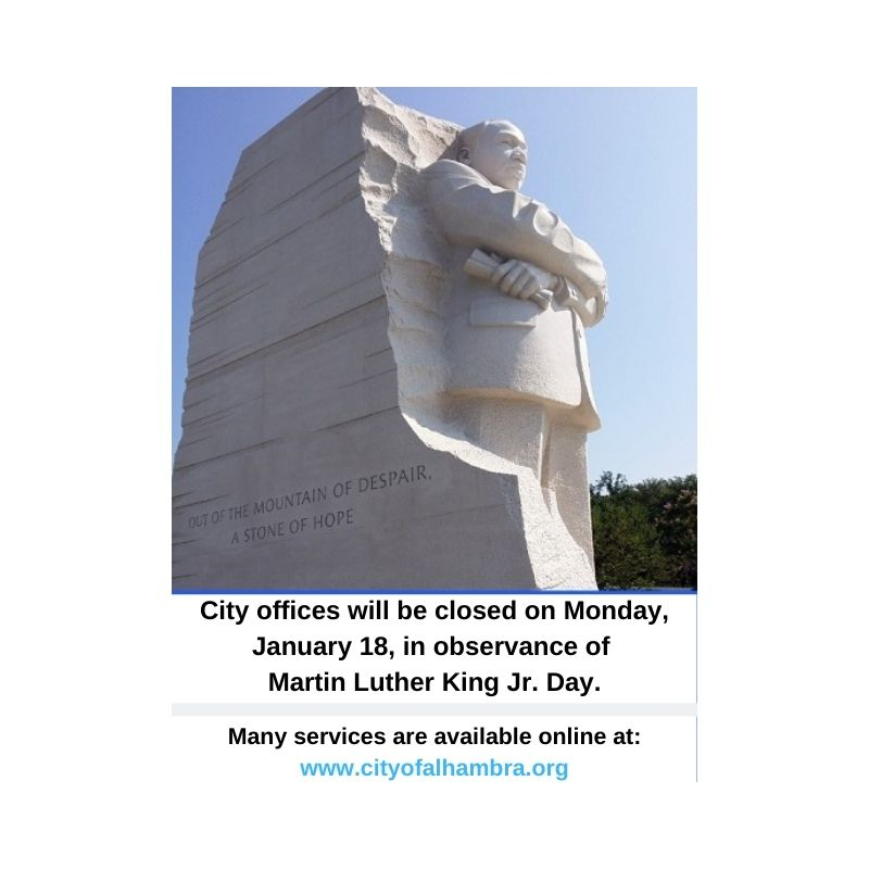 picture of statue of MLK