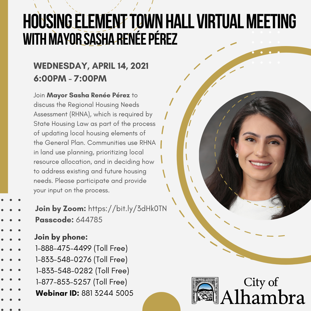 housing element town hall for mayor perez