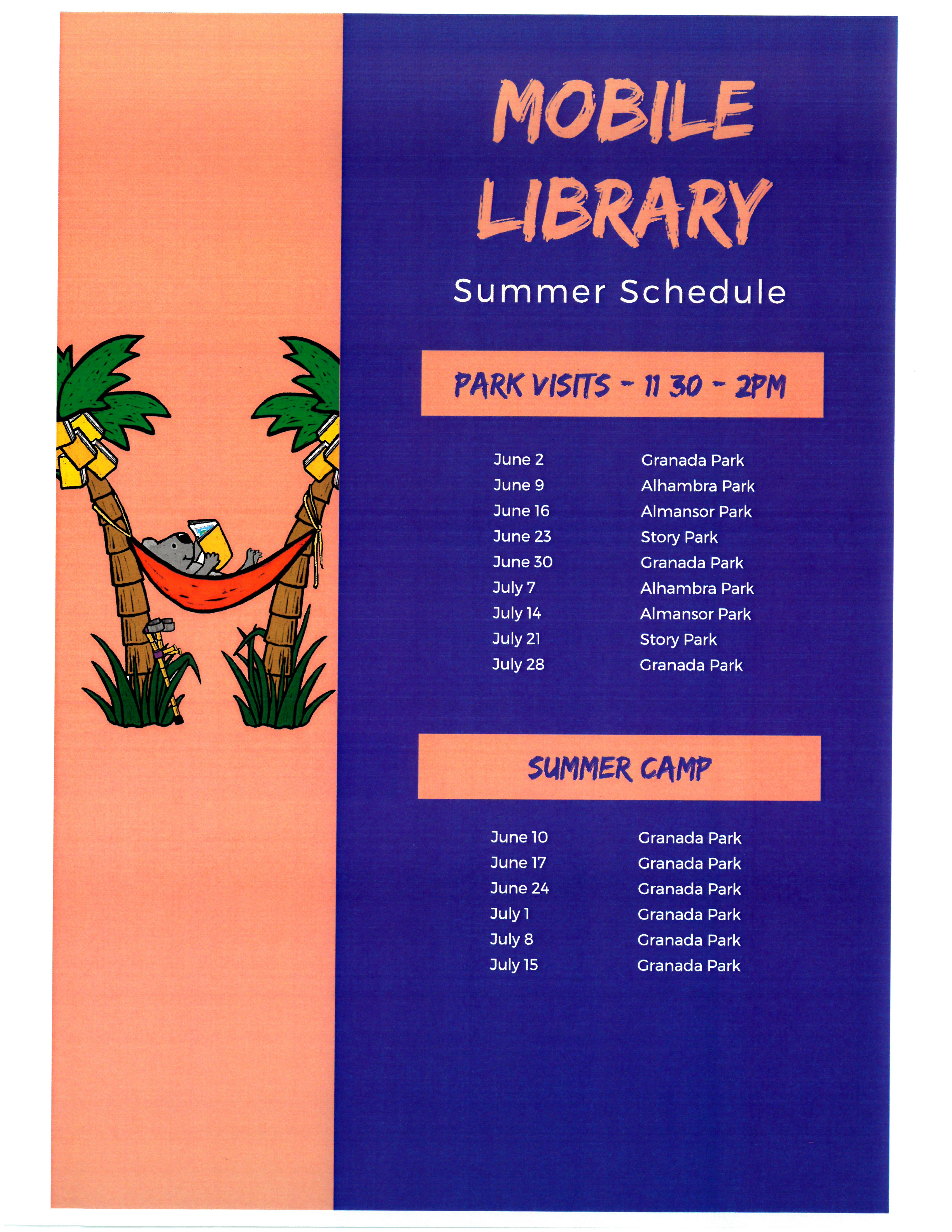 mobile library schedule