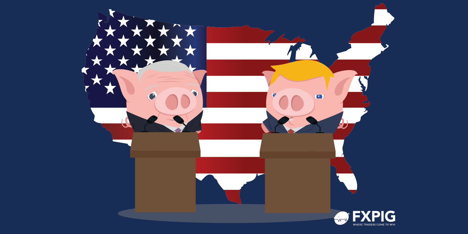 Dollar-rises_presidential-debate_Forex-today_FXPIG