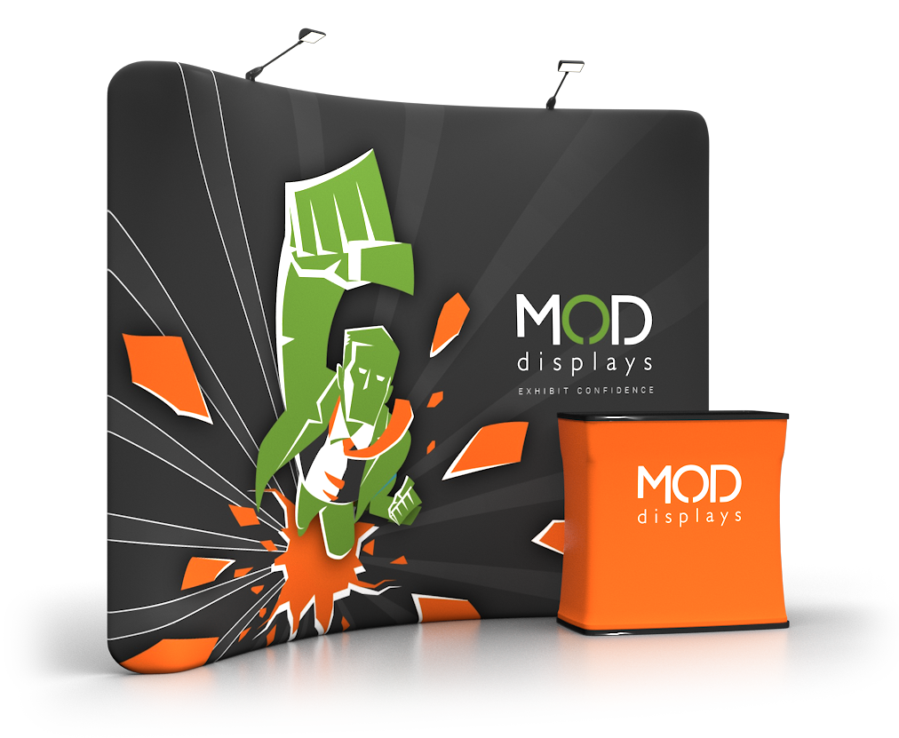Expo Stand Backdrop : Trade show displays by moddisplays