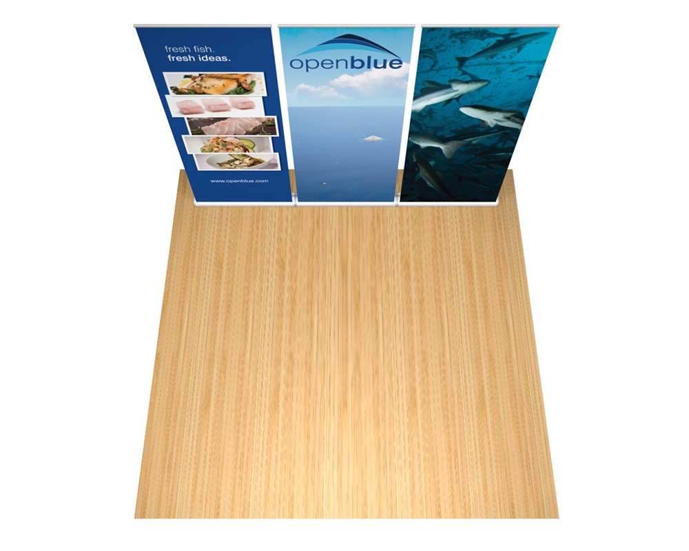 Orient Retractable Banner Stand Wall