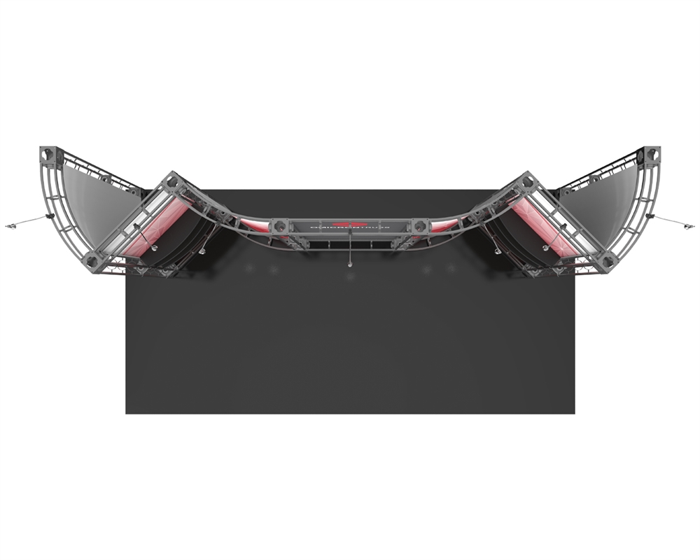 Omicron 10 x 20 Orbital Truss Display