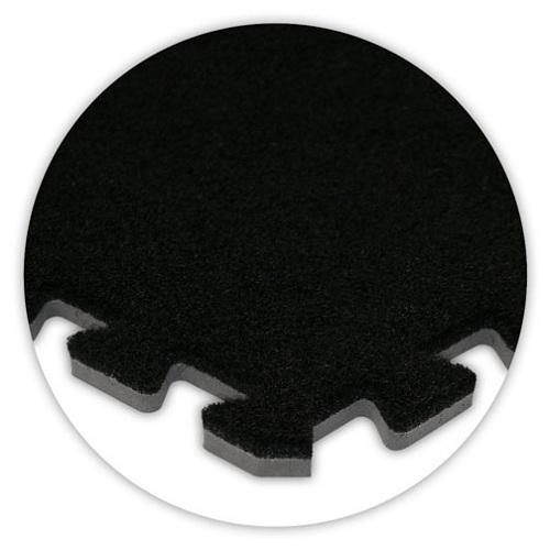 Premium Soft Carpet in Black