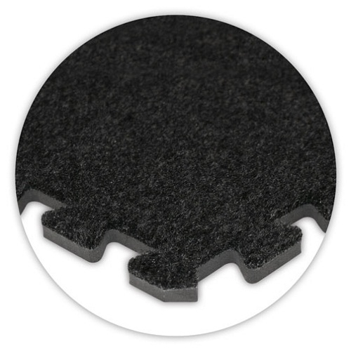 Premium Soft Carpet in Charcoal