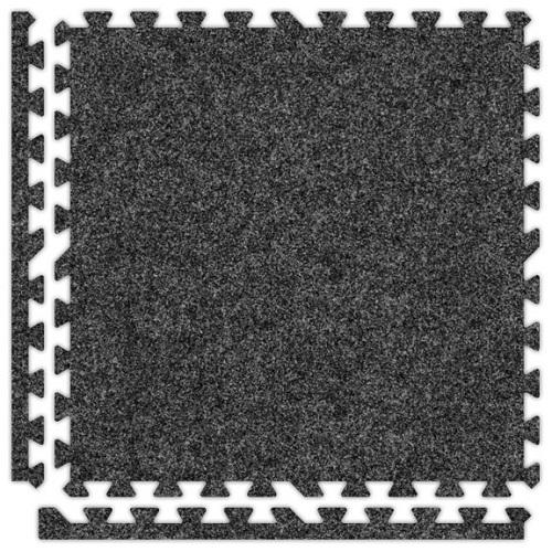 Premium Soft Carpet in Dark Grey