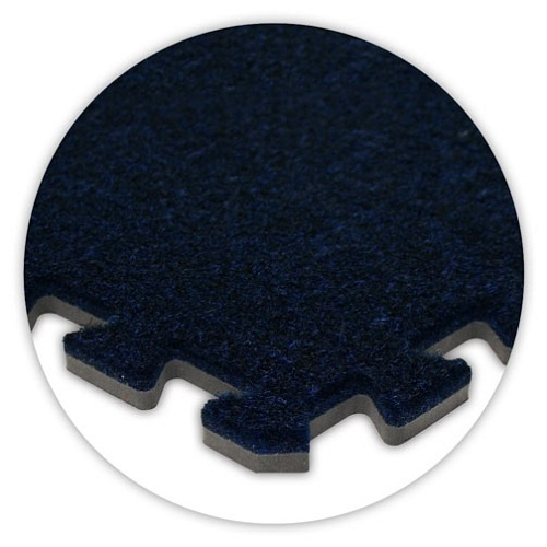 Premium Soft Carpet in Navy Blue