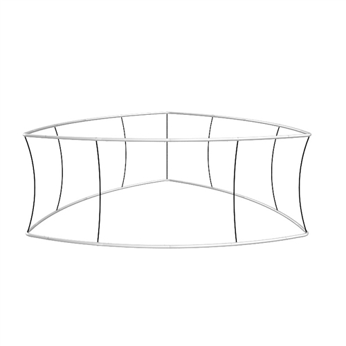Blimp Trio Curved Hanging Sign Frame