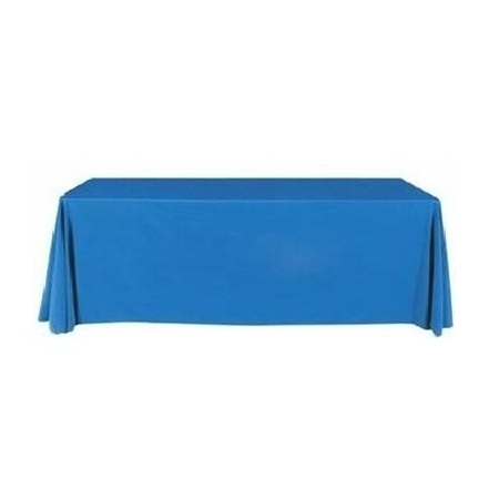 6ft Plain Table Throw