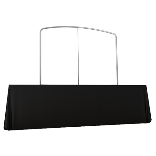 Waveline 6ft Tabletop Curved Frame