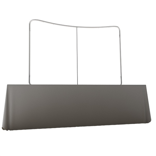 Waveline 8ft Tabletop Curved Frame