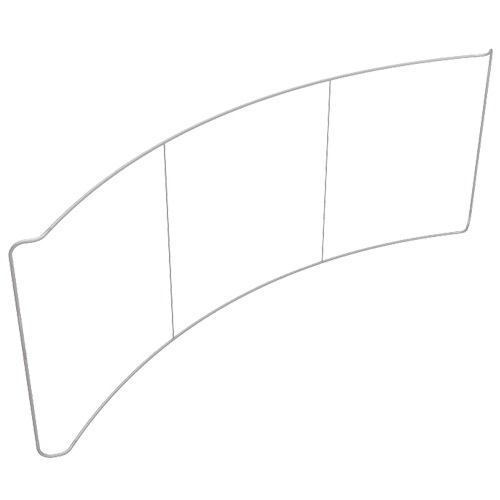 Waveline 20ft Curved Frame