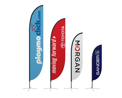 Zoom Flex Feather Flag