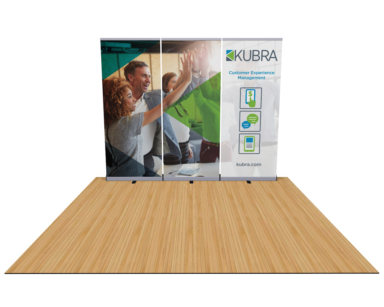 Penta Banner Stand 10ft Trade Show Display Wall